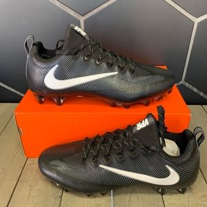 Nike Vapor Untouchable Pro TB Black White Cleats